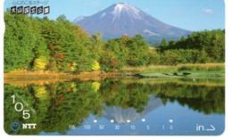 Montagne Mountain Télécarte Phonecard Japon (T 86) - Montagne