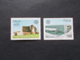 ITALIE / ITALIA   -  CEPT  N°  1742 / 43    Année  1987   Neuf XX    ( Voir Photo ) - 1987