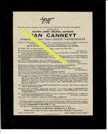Juliana Van Canneyt Echt Gaston Vandenbulcke O Lichtervelde 1871 + Veurne 1946 - Images Religieuses