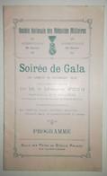 PROGRAMME - 1925 - ABBEVILLE - Société Nationale Des Médaillés Militaires - Programme