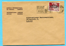 Brief Bureau International Du Travail Genève 1955 - Officials