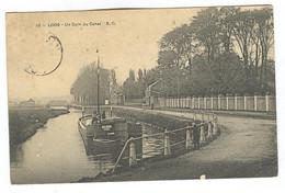 G1166 - LOOS - Un Coin Du Canal - Péniche - Loos Les Lille