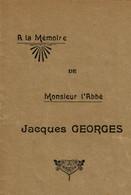 Jacques Georges Curé De Wanne, Ancien Vicaire De Stavelot Et Curé De Francorchamps - Trois-Ponts