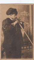 SANT'ANTIOCO-CARBONIA IGLESIAS-SUONATORE DI LAUNEDAS-CARTOLINA NON VIAGGIATA -1920-1930 - Carbonia