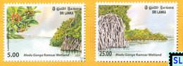 Sri Lanka Stamps 2009, Mangroves, Madu Ganga, World Wetland Day, MNH - Sri Lanka (Ceylon) (1948-...)