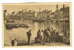 G1172 - CONCARNEAU - Arrivée Des Pêcheurs Aux Bassins - Concarneau