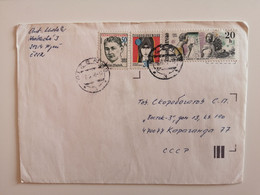 CZECHOSLOVAKIA..COVER WITH STAMPS.. - Cartas