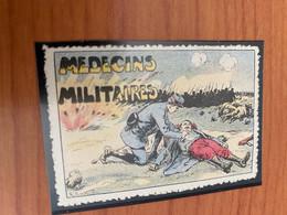 Vignette - Médecins Militaires - Croix Rouge