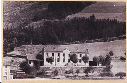 Div064 ⭐ Carte-Photo 1950s ECOLE ? à Localiser Croix Foret Sapins Basse Montagne - Ohne Zuordnung