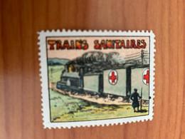 Vignette -trains Sanitaires - Croix Rouge - Croix Rouge