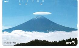Montagne Mountain Télécarte Phonecard Japon (T 93) - Montagne