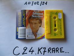 MICHEL SARDOU K7 RARE VOIR PHOTO...ET LIRE IMPORTANT...  REGARDEZ LES AUTRES (PLUSIEURS) - Audio Tapes