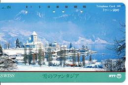 Montagne Mountain Télécarte Phonecard Japon (T 95) - Montagne