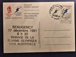France - N° 2732 : PARCOURS DE LA FLAMME OLYMPIQUE - Covers & Documents