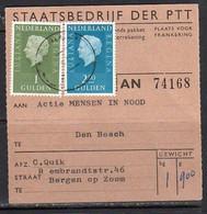 Adreskaart Den Bosch Naar Bergen Op Zoom (Q20) - Briefe U. Dokumente