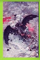 Le Dernier Effort, Sous Le Regard De Napoléon. Carte Propagande Guerre 1914, Illustrateur Mastroianni. 2 Scans. Edition - Guerra 1914-18