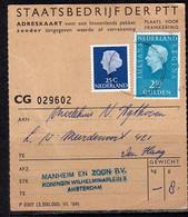 Adreskaart Manheim & Zoon Naar Modehuis Agthoven (Q19) - Briefe U. Dokumente