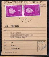Adreskaart Middelburg Den Haag (Q17) - Briefe U. Dokumente