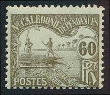 NOUV.-CALEDONIE 1906 - Yv. Taxe 22 **   Cote= 1,80 EUR - 60c Brun-olive S.azuré  ..Réf.NCE25877 - Postage Due