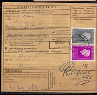 Adreskaart PUINEN!!! 1973 (Q16) - Briefe U. Dokumente