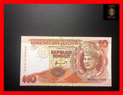Malaysia 10 Ringgit Lot Consecutive 10 pcs UNC 1989 P29 banknote
