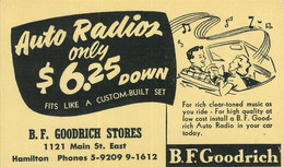 93445 - CANADA - POSTAL HISTORY - Private Advertising STATIONERY Auto RADIO - 1903-1954 Reyes