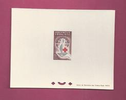 Epreuve  De Luxe. YT N° 24 - Centenaire De La Croix Rouge - Non Dentellati, Prove E Varietà