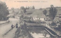 60 - CREPY EN VALOIS / ROUTE DE COMPIEGNE - L'ABREUVOIR - Crepy En Valois
