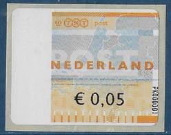 Automaatzegels Wincor-Nixdorf Propostal 2000 - PK000001 - Altri