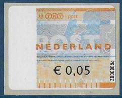 Automaatzegels Wincor-Nixdorf Propostal 2000 - PK000002 - Altri
