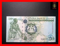 LESOTHO 20  Maloti 2009  P. 16  UNC - Lesotho