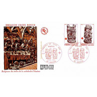 FDC JF - Croix-Rouge : Stalles De La Cathédrale D'Amiens - 6/12/1980 - 1980-1989