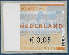 Automaatzegels Wincor-Nixdorf Propostal 2000 - TNT00005 - Altri