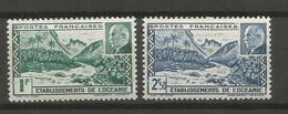Timbre De Colonie Française Océanie Neuf * N 138 / 139 - Unused Stamps