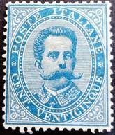 Italie Italy Italia 1879 Humbert I Umberto I Signé Signed Signiert Approvato Yvert 36 (*) MNG - Ungebraucht
