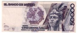 MEXICO50000PESOS20/12/1990P93XF.CV. - Mexico
