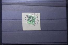 FRANCE - Cachet Retour à L 'envoyeur Sur Type Mazelin Préoblitéré 80ct Sur Fragment - L 88543 - 1921-1960: Période Moderne