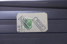 FRANCE - Cachet Retour à L 'envoyeur Sur Type Mazelin Préoblitéré 80ct Sur Fragment - L 88545 - 1921-1960: Période Moderne