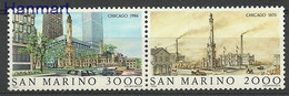 San Marino 1986 Mi 1341-1342 MNH ( ZE2 SMRpar1341-1342 ) - Autos