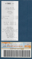 Automaatzegels Wincor-Nixdorf Propostal 2000 - TNT00003 - Barcodezegel Antwoordnummer - Altri