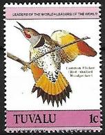Tuvalu - MNH ** 1985 :  Northern Flicker   - Colaptes Auratus - Spechten En Klimvogels