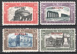 Eritrea 1929 Sass.138/41 */MH VF/F - Eritrea