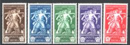 Eritrea 1930 Sass.174/78 */MH VF/F - Eritrea