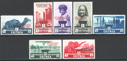 Eritrea 1934 Sass.213/19 */MH VF/F - Eritrea