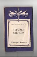 Œuvres Choisies De Chrétien De Troyes - Classic Authors