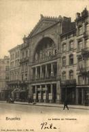 BRUXELLES BRUSELAS LE THÉATRE DE L'ALHAMBRA   BELGICA BELGIQUE TEATRO THEATER  Theatrecollection - Monuments