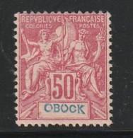Obock N) 42 Avec Charnière * - Unused Stamps