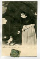 50 LE MONT ST SAINT MICHEL  Mme Poulard Au Travail Faisant Son Omelette 1907 Timb      /D08-2017 - Le Mont Saint Michel