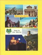 SAN MARINO - LOTTO 8 CARTOLINE  NUOVE DI SAN MARINO - NUOVE - FUNIVIE - San Marino