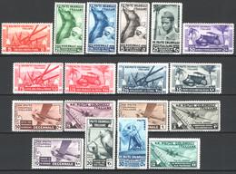 Colonie Em.Generali 1933 Sass.32/41+A22/29 */MH VF/F - Algemene Uitgaven
